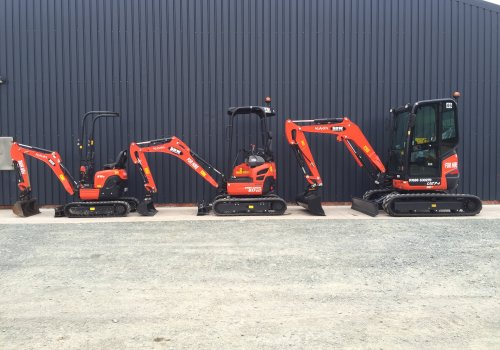 More Kubota Mini Diggers added to the fleet!
