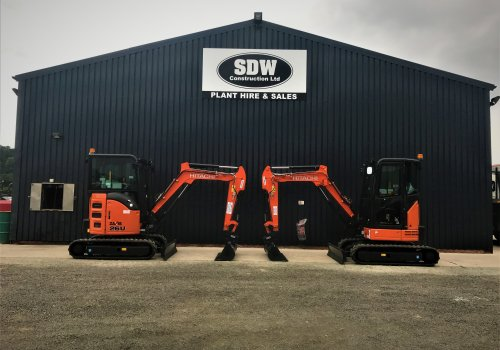More high spec excavators arrive to keep up with high demand!